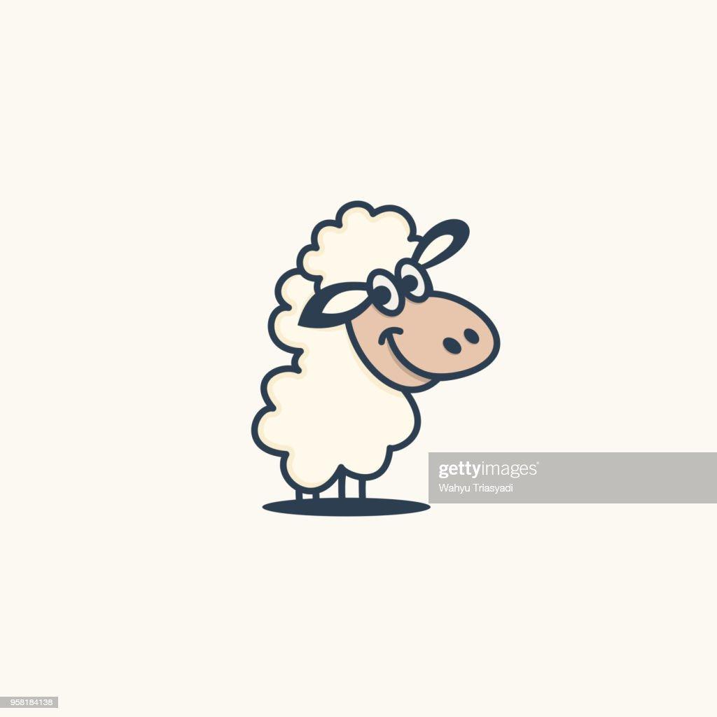 Sheep logo characters