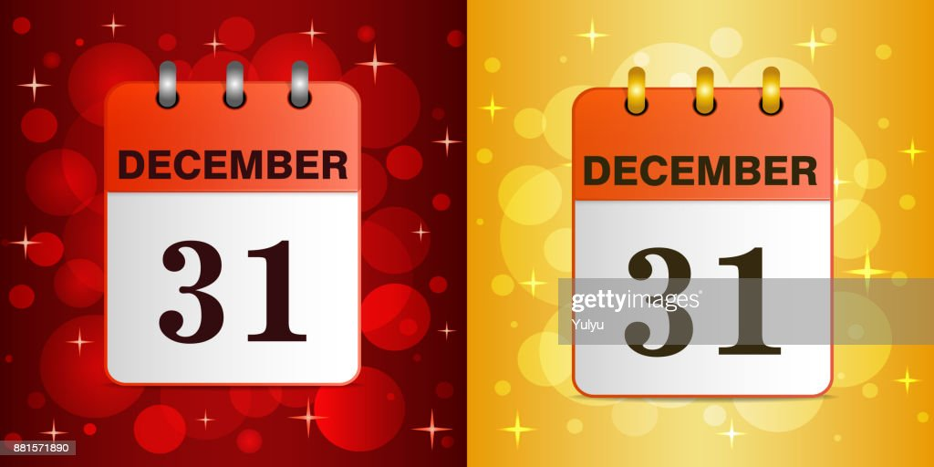 31 december new year vector illustration on a festive colorful background the template can be used for any design especially on web sites