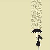 Sheet of rain