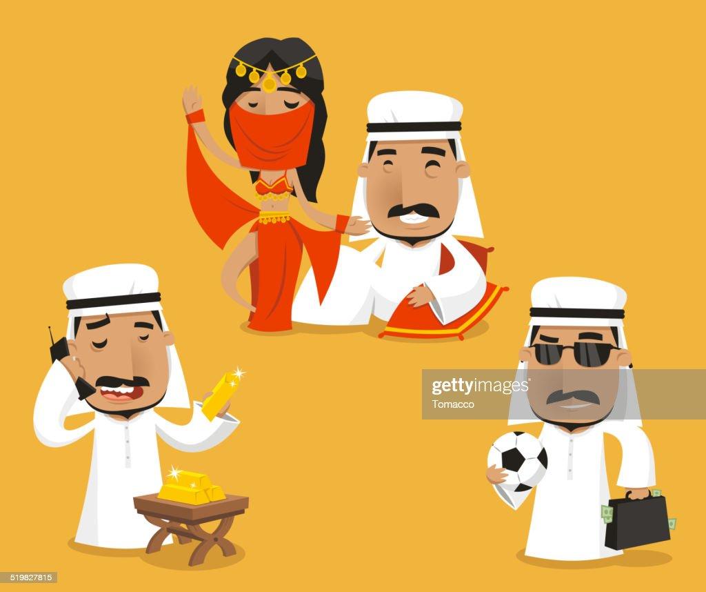 Sheikh Royalty Power Wealth Set II