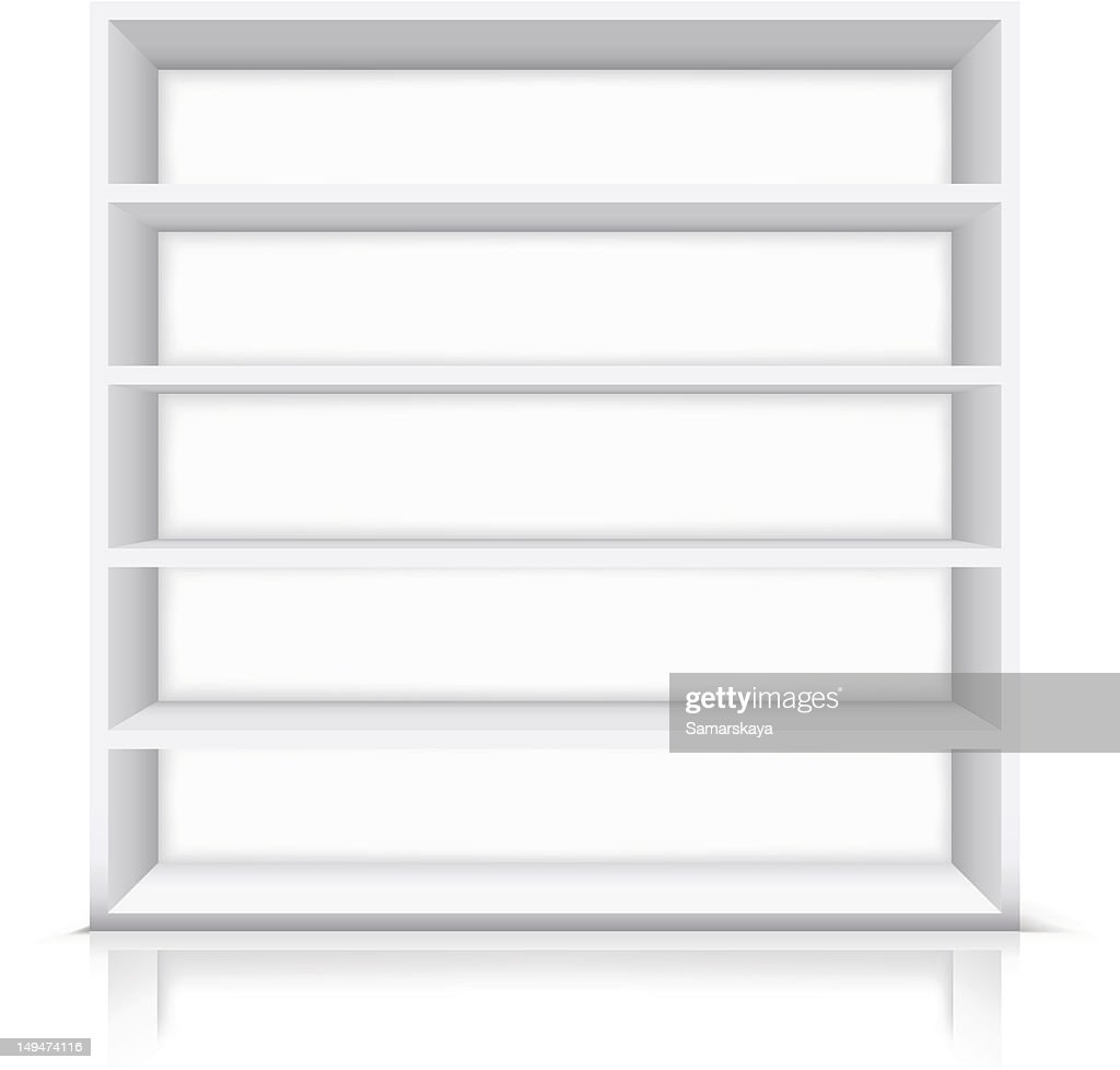 Shelf : stock illustration