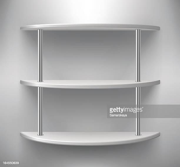 shelf - retail display stock illustrations, clip art, cartoons, & icons