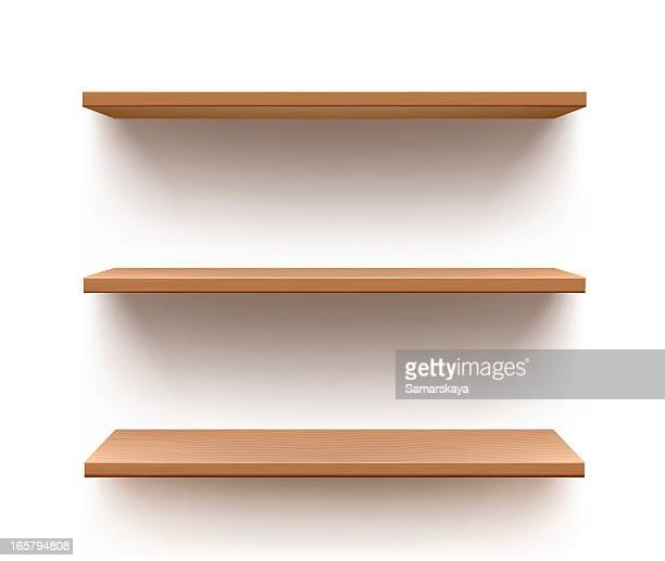 shelf - no people stock illustrations