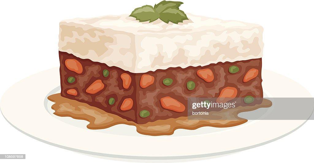 Shepherd's Pie : stock illustration