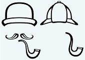 Sherlock Holmes. Icon Detective