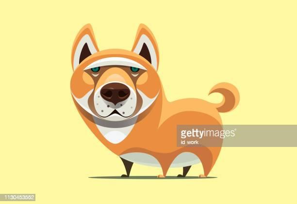 44 柴犬 Stock Illustrations Clip Art Cartoons Icons Getty Images