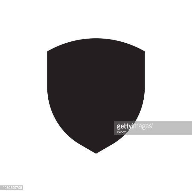 shield logo symbol - shield stock illustrations