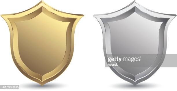 shield - shielding stock illustrations