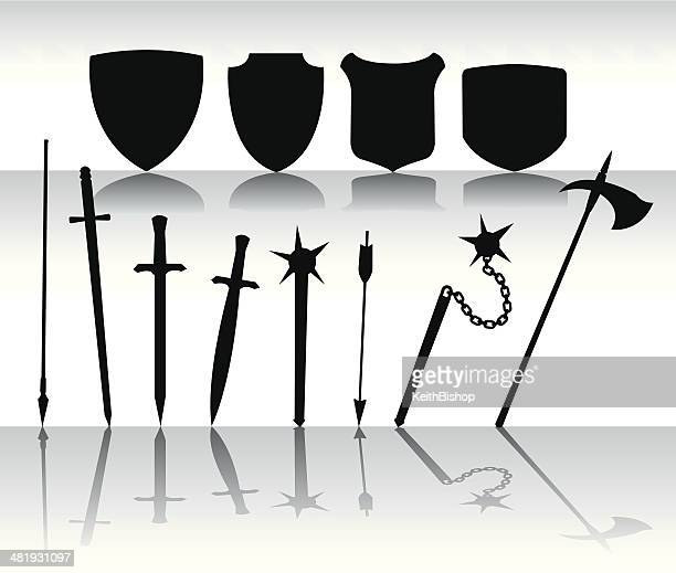 Shields and Swords - Medieval Weapondary
