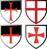 Shields of Templar Knights