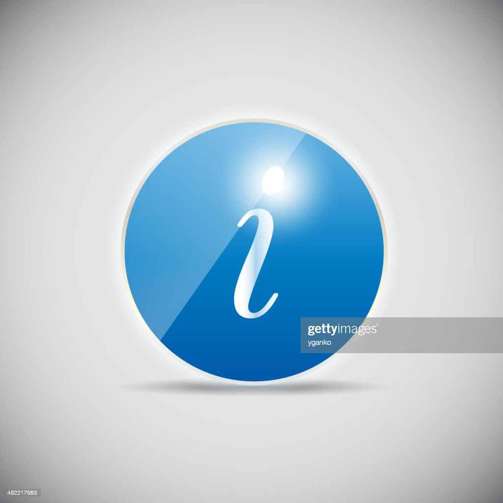 Shine glossy computer icon vector illustration