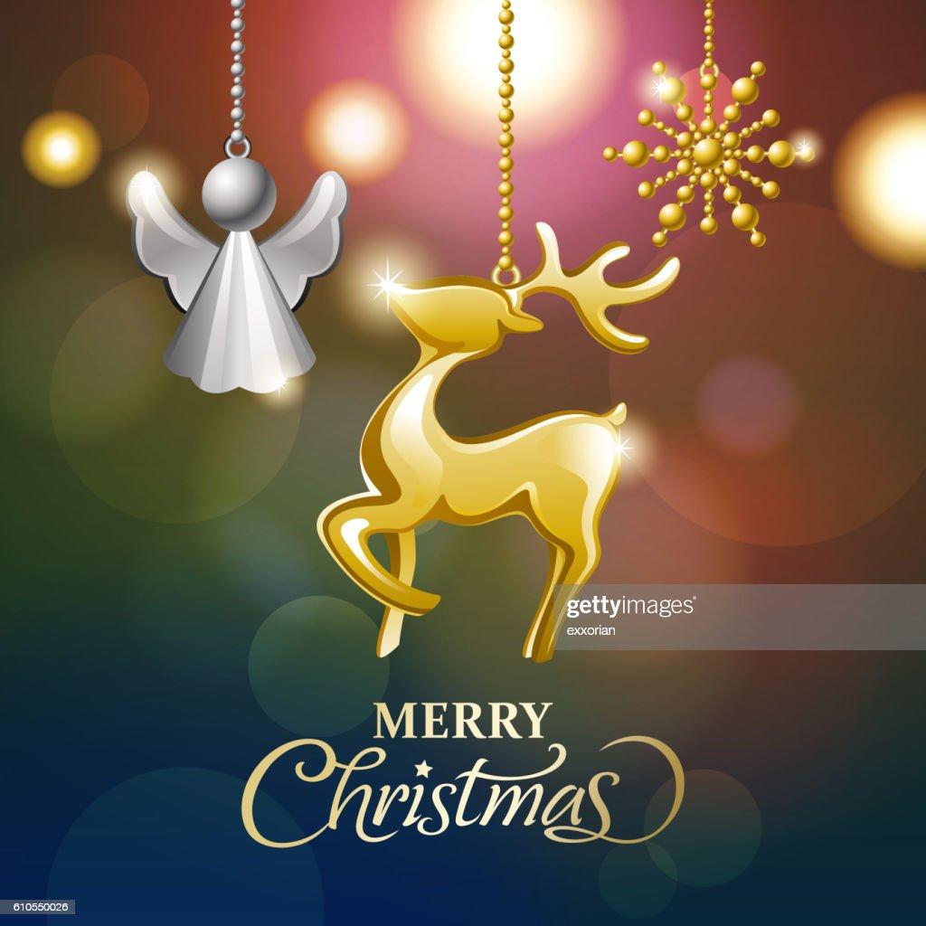 Shining Christmas Ornaments