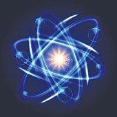 Shining nuclear atom model