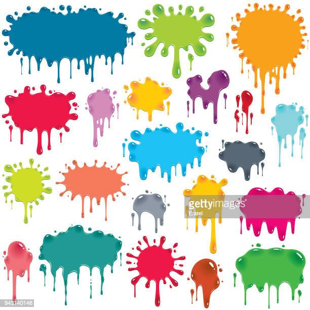 shiny colorful splashes - juice drink stock illustrations, clip art, cartoons, & icons