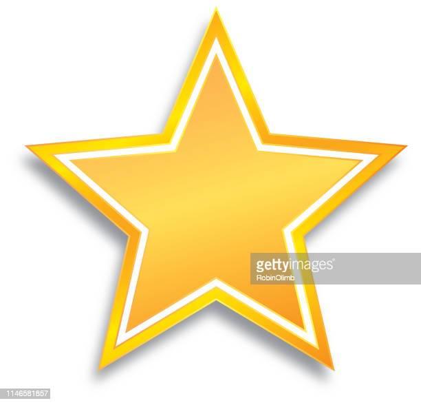ilustrações de stock, clip art, desenhos animados e ícones de shiny gold star - estrelas de natal