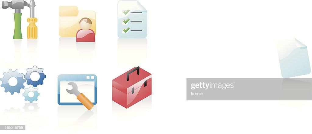shiny icons: configuration