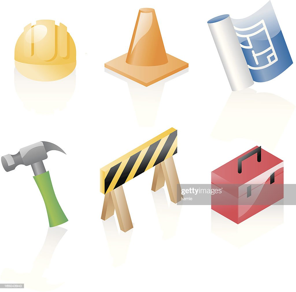 shiny icons: construction