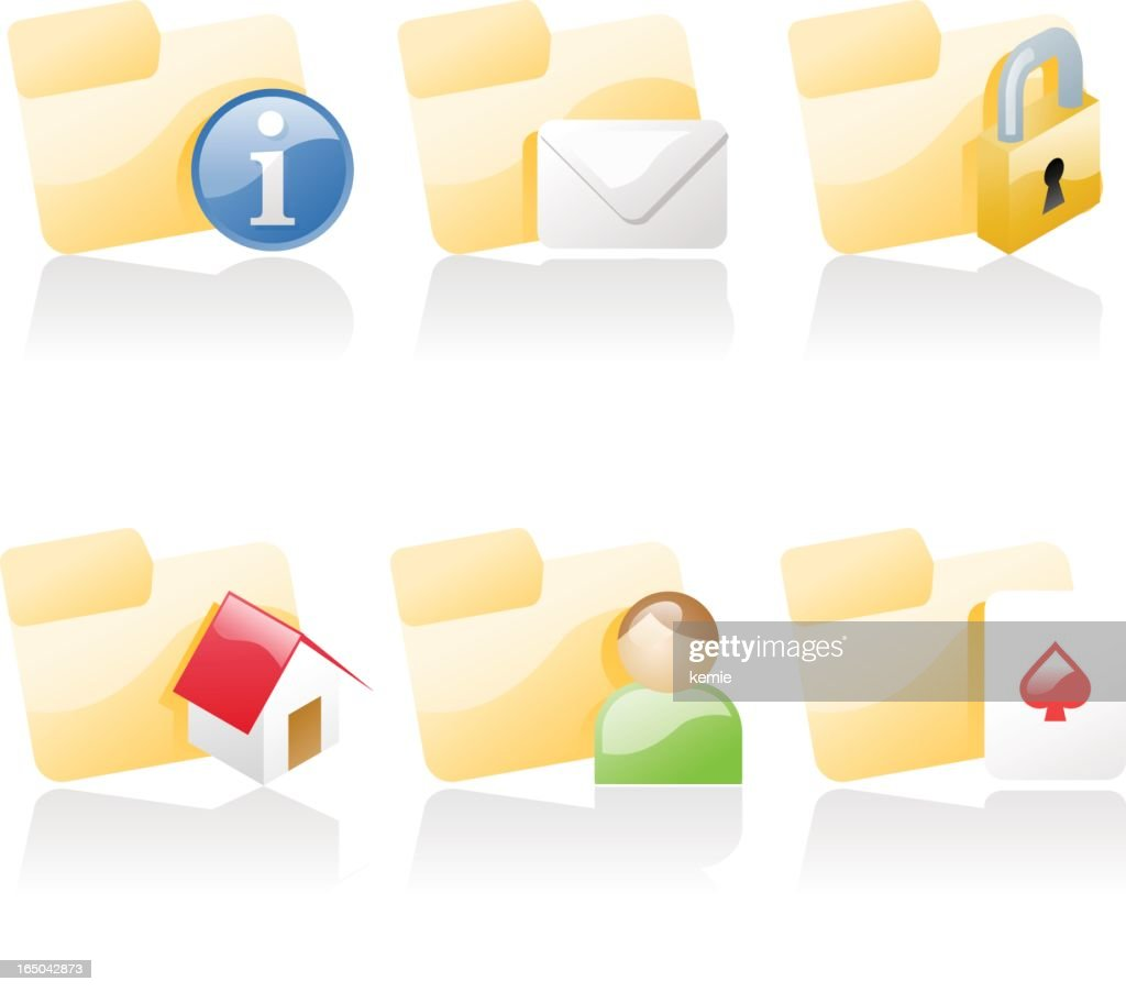 shiny icons: folders 2