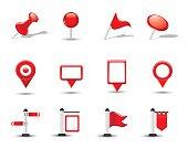 Shiny Map Symbols, Flags and Pins