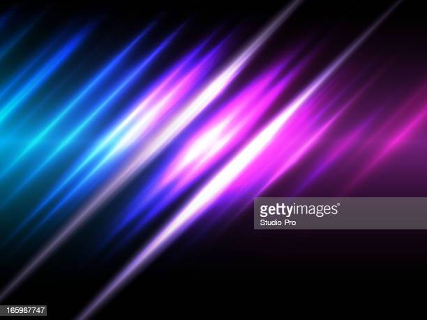 Shiny neon lines background