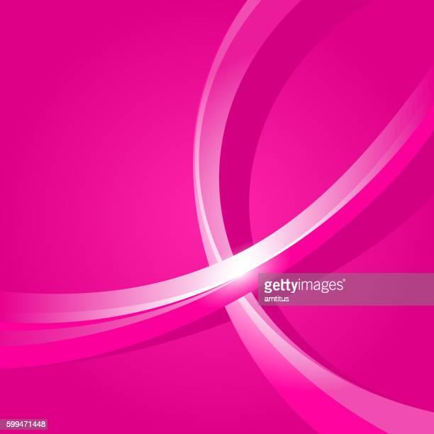shiny pink ribbon background - sensibilisierung für brustkrebs stock-grafiken, -clipart, -cartoons und -symbole