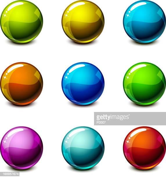 Shiny Spheres Set