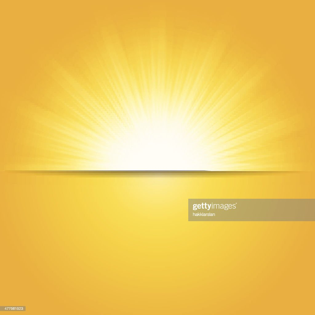 Shiny summer sun, vector illustration