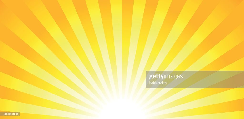 Shiny sun lights, summer banner, background