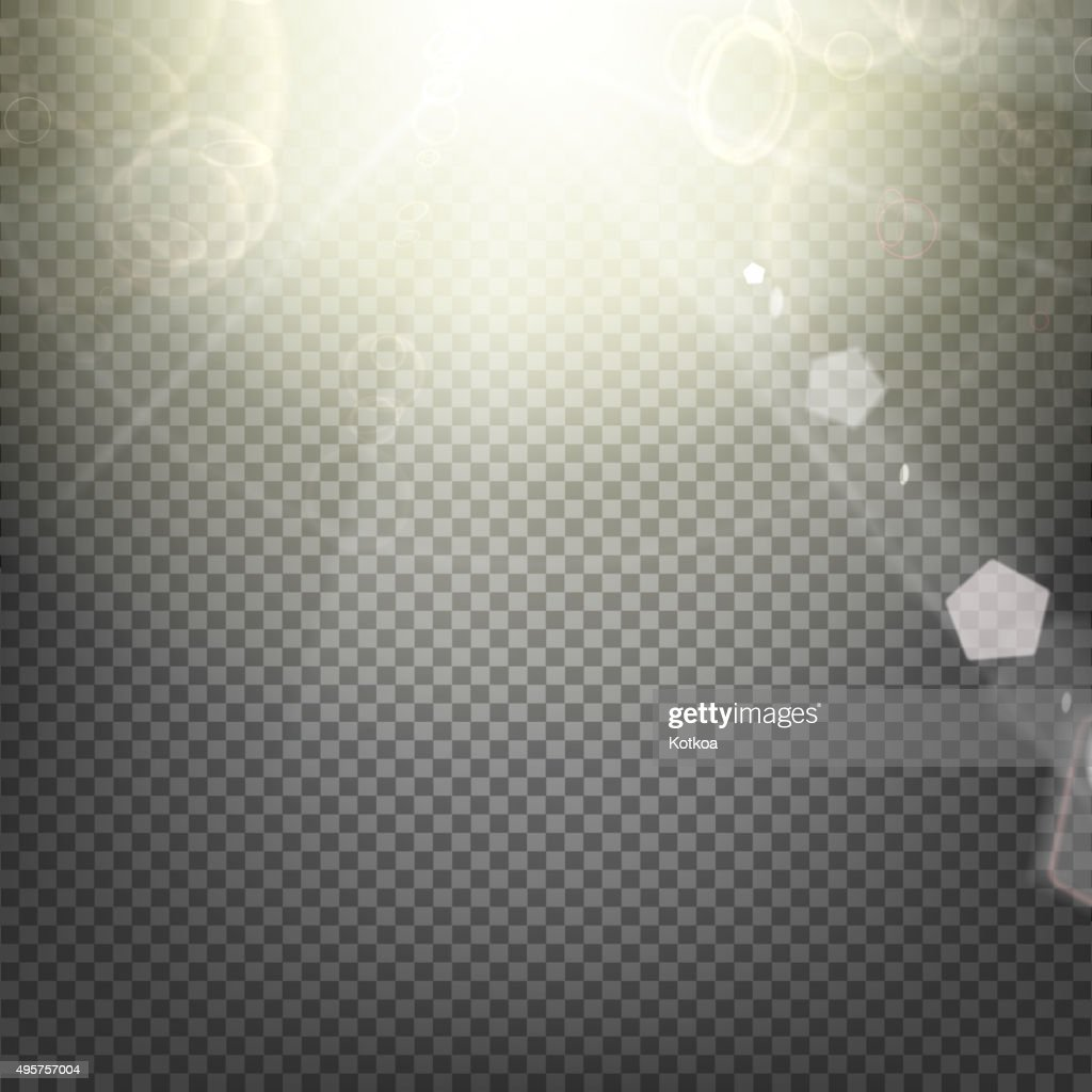 Shiny sunburst background