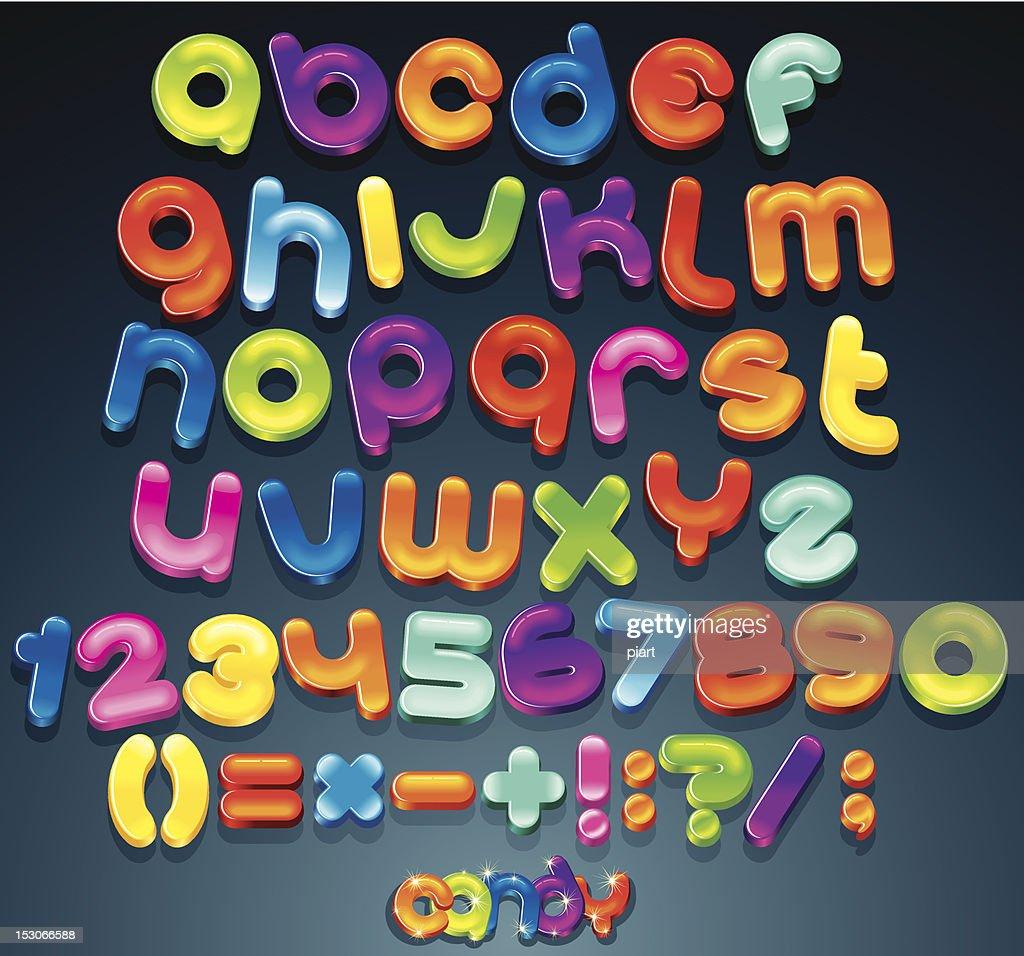 Shiny Vector Font