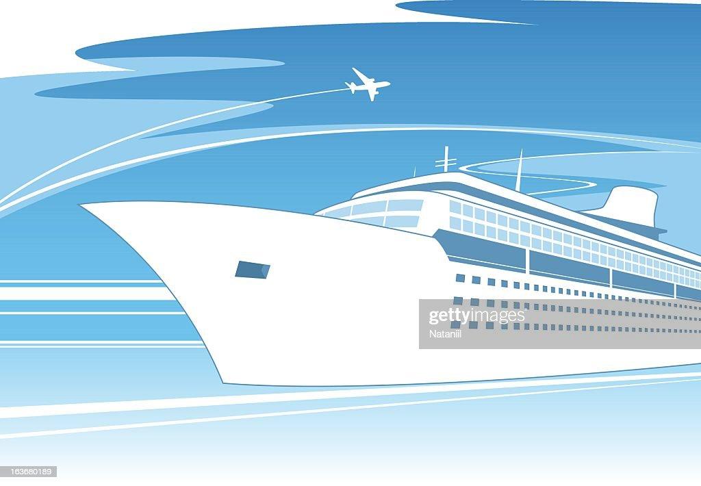 Ship concept : stock illustration