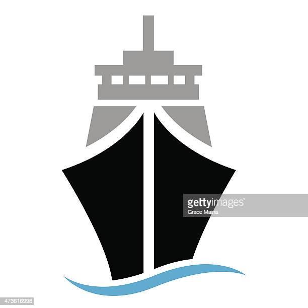 Ship or boat Illustration - VECTOR