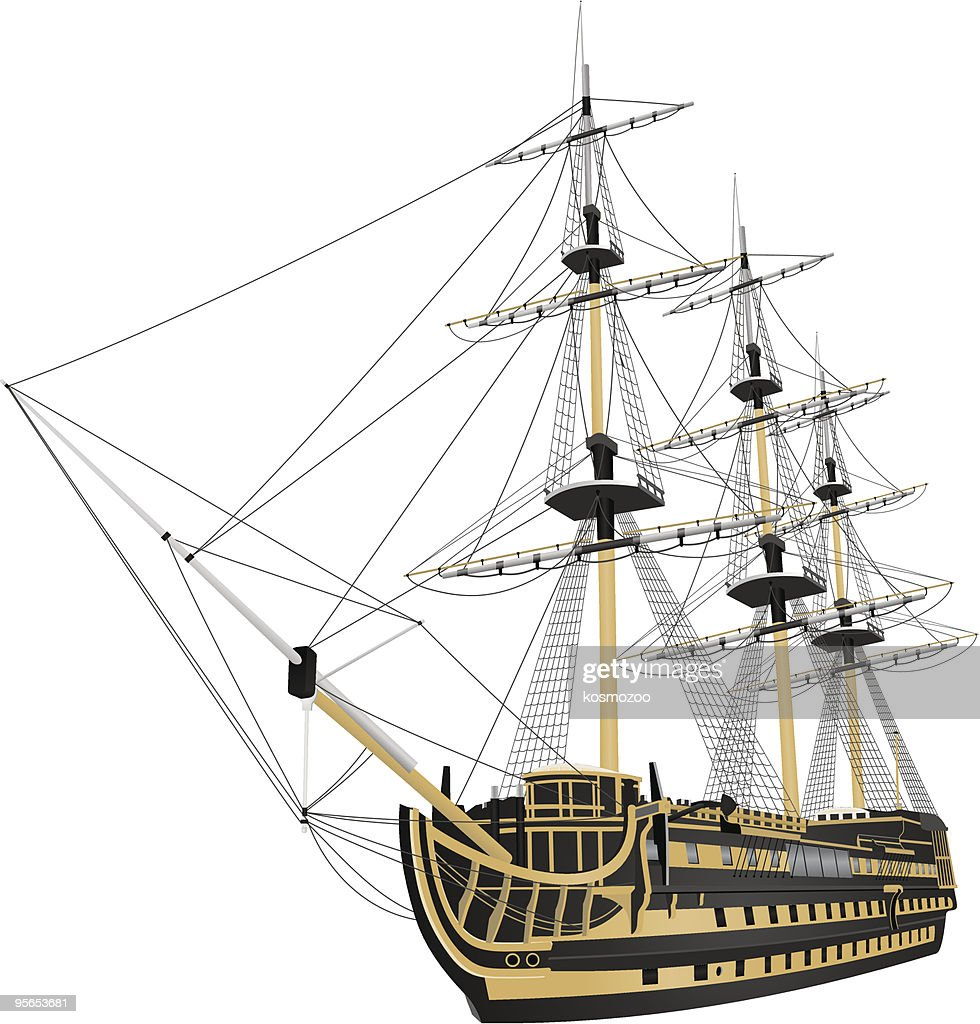 ship : stock illustration