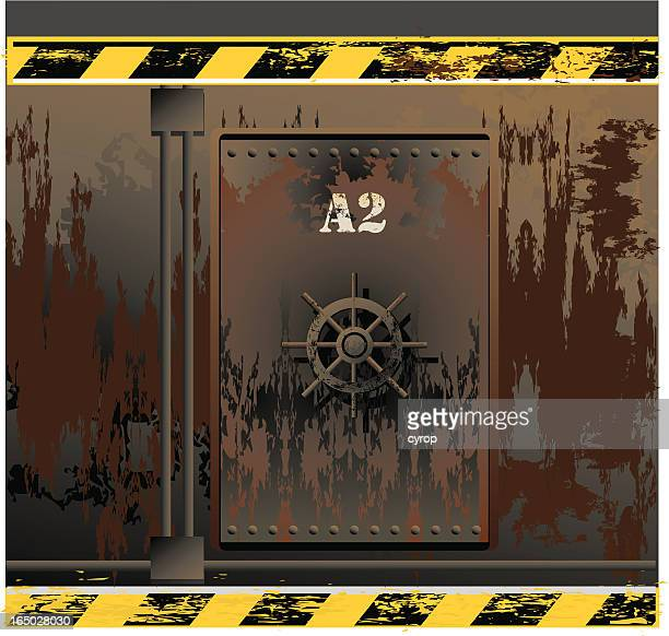 ship wreck door VECTOR