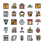 Shipping and Delivery Icons Collection