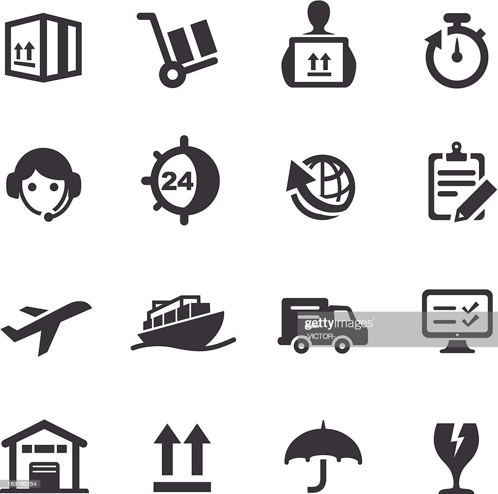 Shipping and Logistics Icons - Acme Series