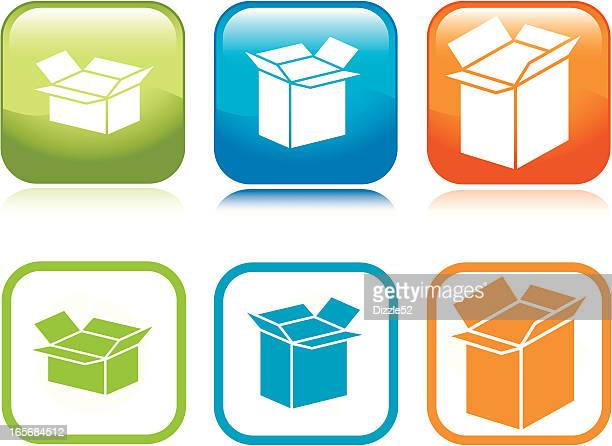 Shipping Boxes Icons