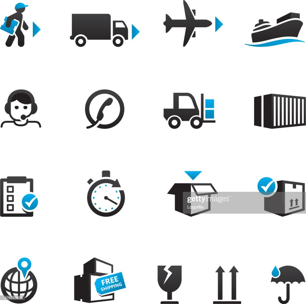 Shipping & Logistics Icons
