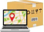 Shipping parcel tracking order design