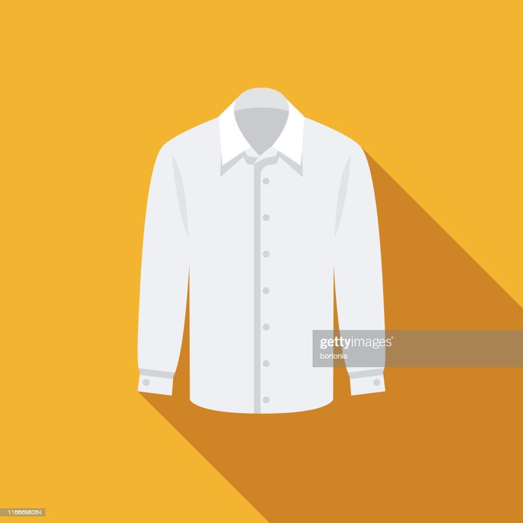 シャツの衣類とアクセサリーアイコン : ストックイラストレーション