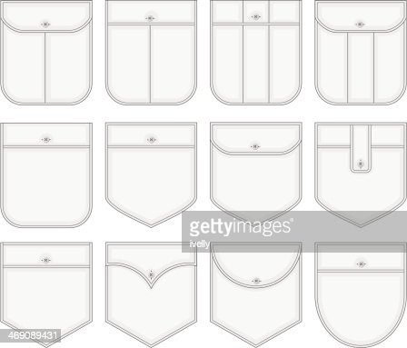 shirt pockets vector art | thinkstock