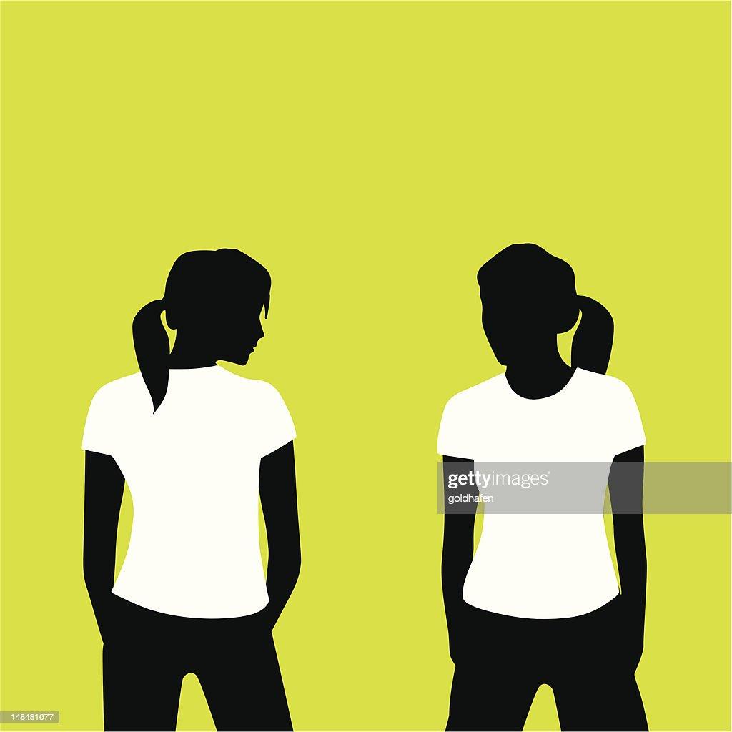 shirtgirl back front