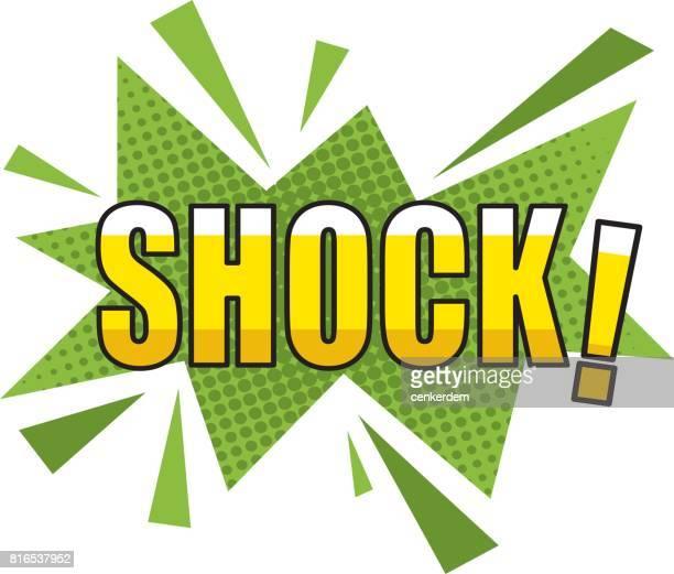schock-zeichentrick-effekt - designelement stock-grafiken, -clipart, -cartoons und -symbole