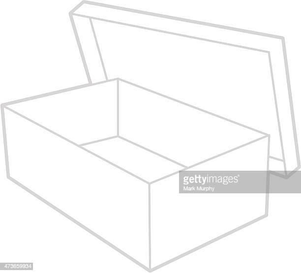Shoe Box Graphic Icon