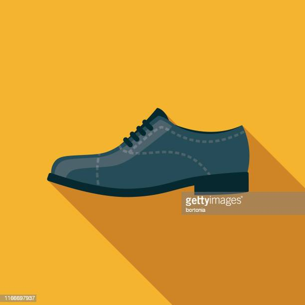shoe clothing & accessories icon - dress shoe stock illustrations