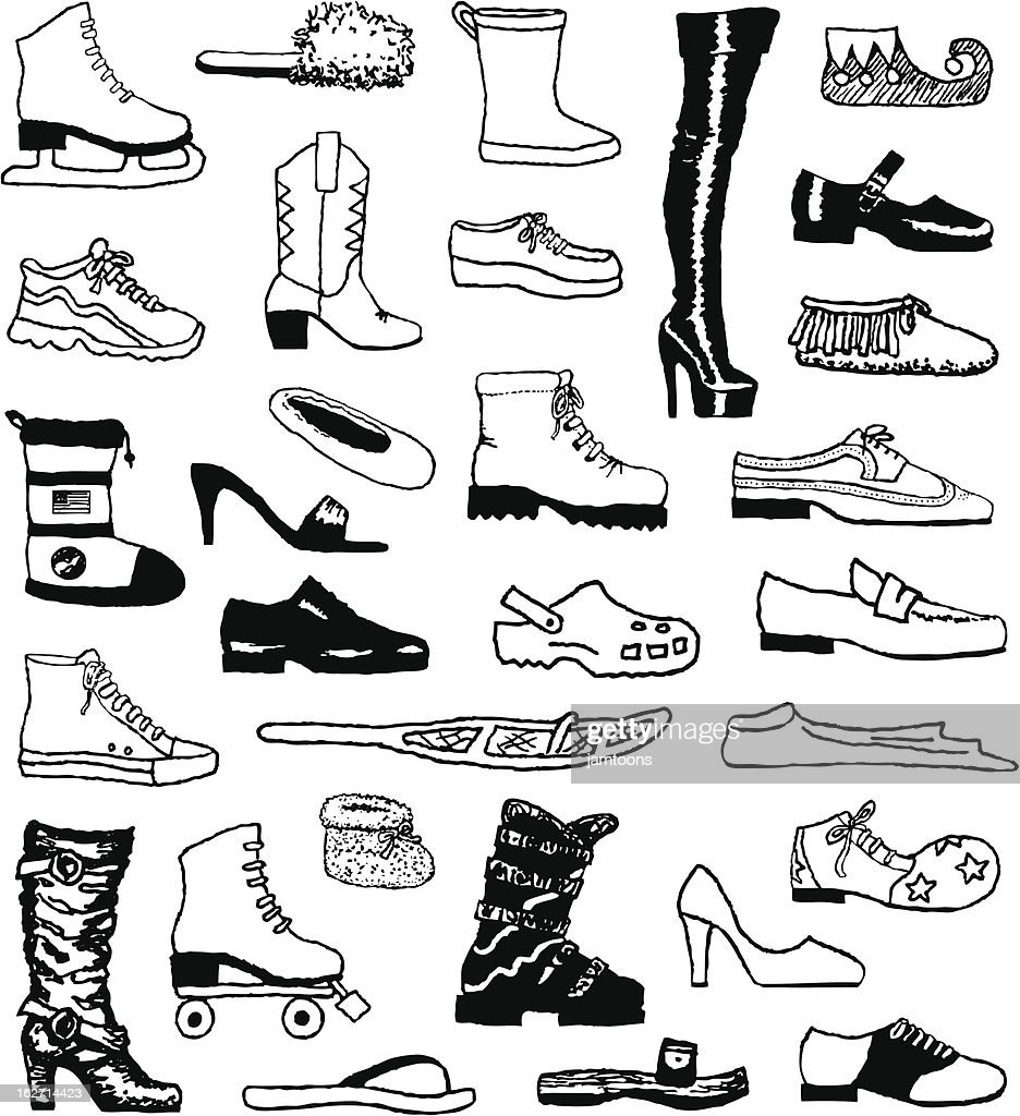 Shoe Doodles
