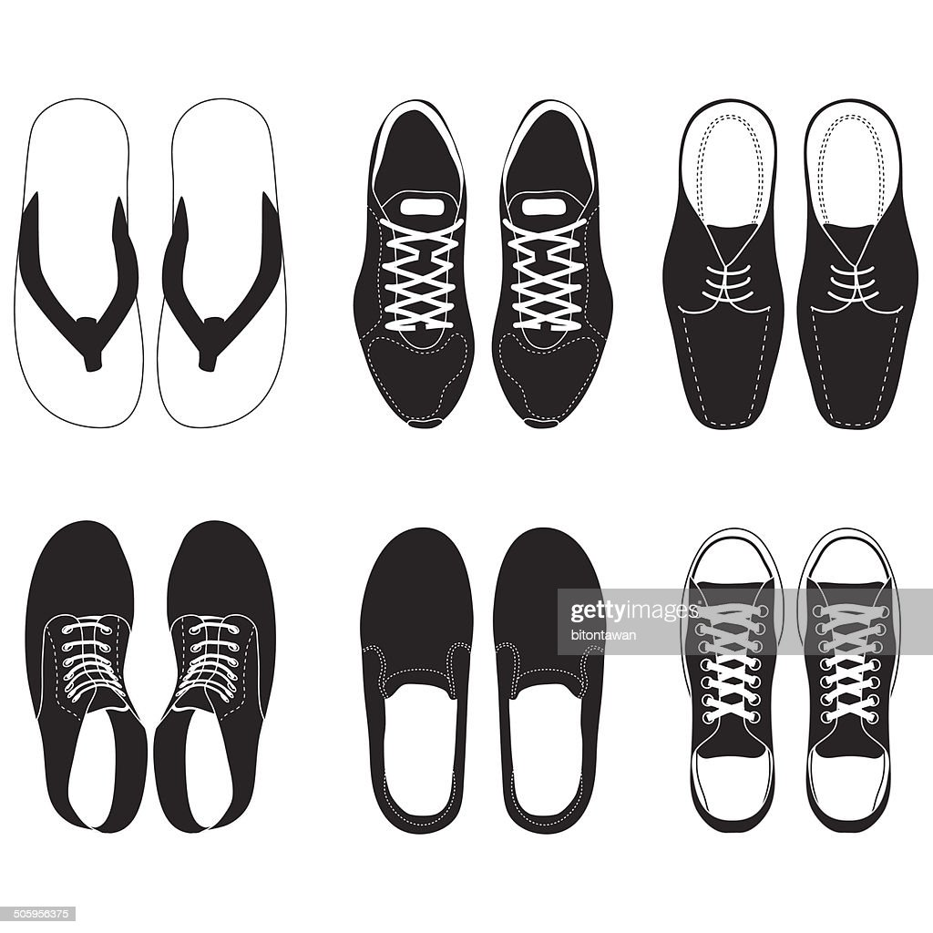 shoe vector set