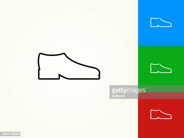 Shoes Black Stroke Linear Icon