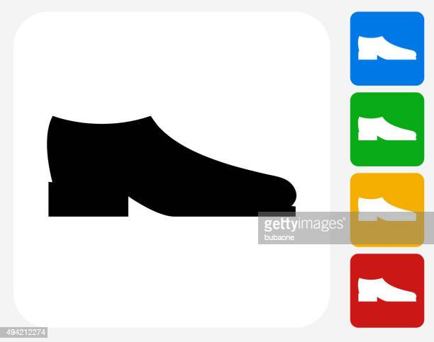 Shoes Icon Flat Graphic Design