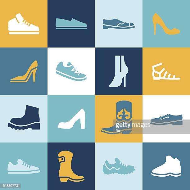shoes - high heels stock illustrations, clip art, cartoons, & icons